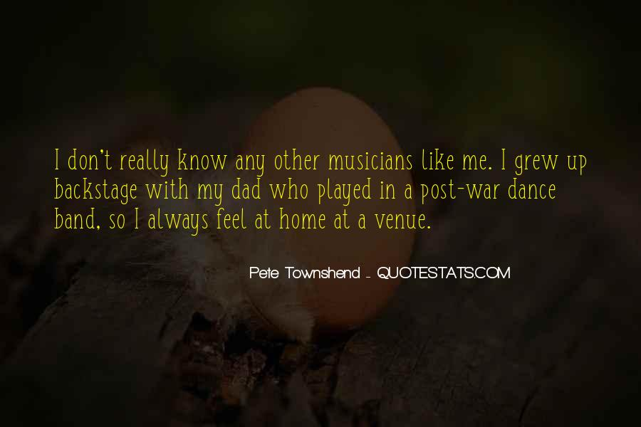 Quotes About Venue #429662