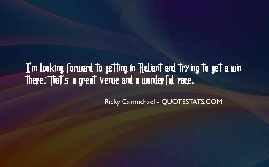 Quotes About Venue #625549