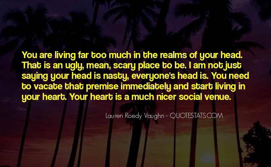 Quotes About Venue #733934