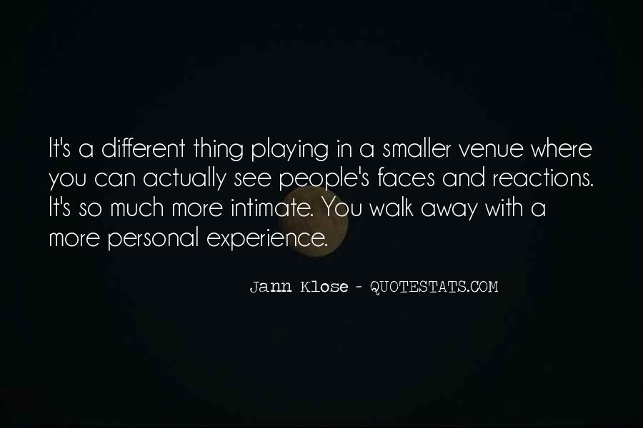 Quotes About Venue #740305