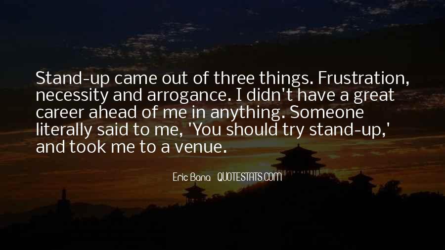 Quotes About Venue #836789