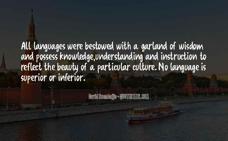 Quotes About Understanding Culture #1003827