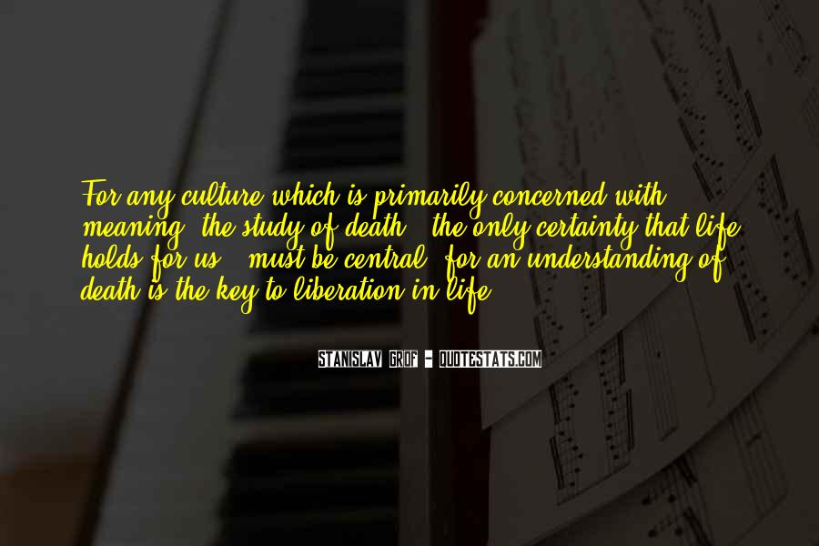 Quotes About Understanding Culture #1687494