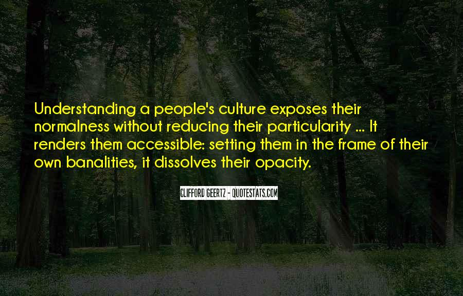 Quotes About Understanding Culture #1864746