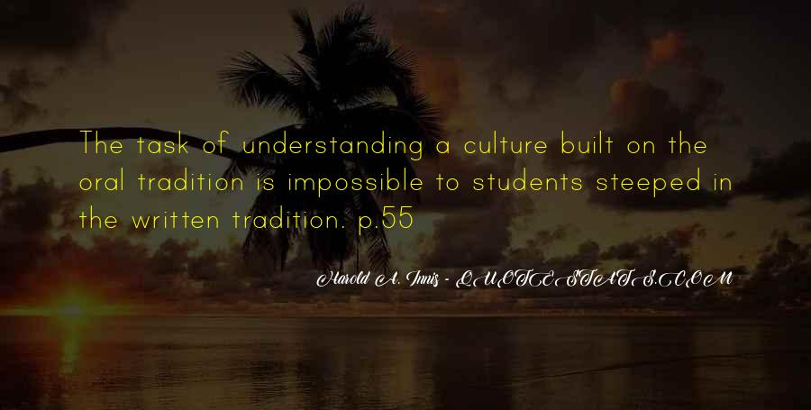 Quotes About Understanding Culture #34718