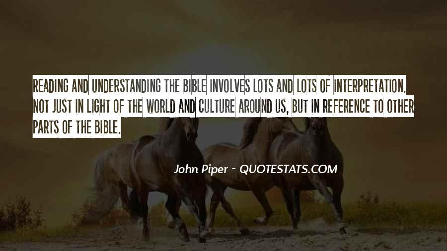 Quotes About Understanding Culture #648971