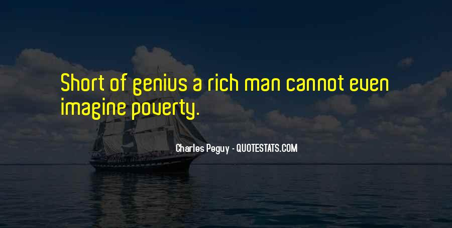 Quotes About Rich Man #123578