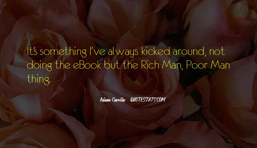 Quotes About Rich Man #124718