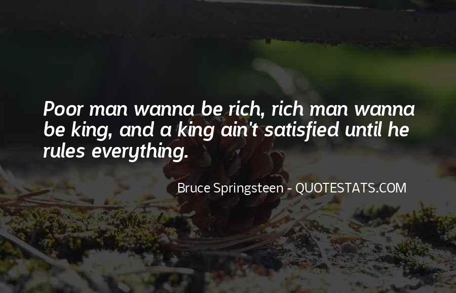 Quotes About Rich Man #12751