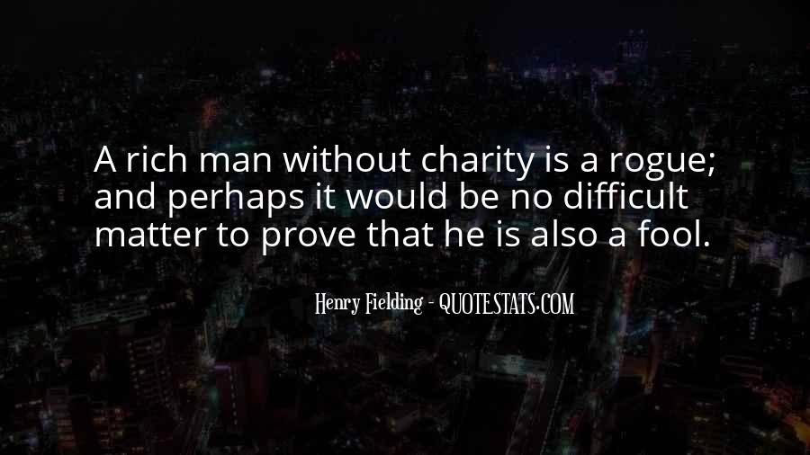 Quotes About Rich Man #14395