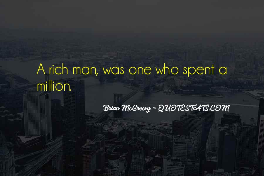 Quotes About Rich Man #146534