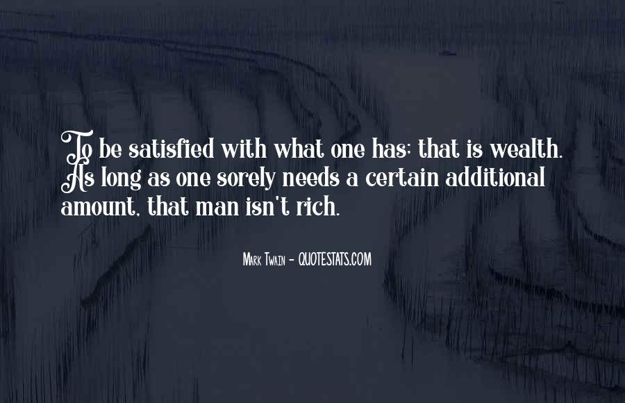 Quotes About Rich Man #162341