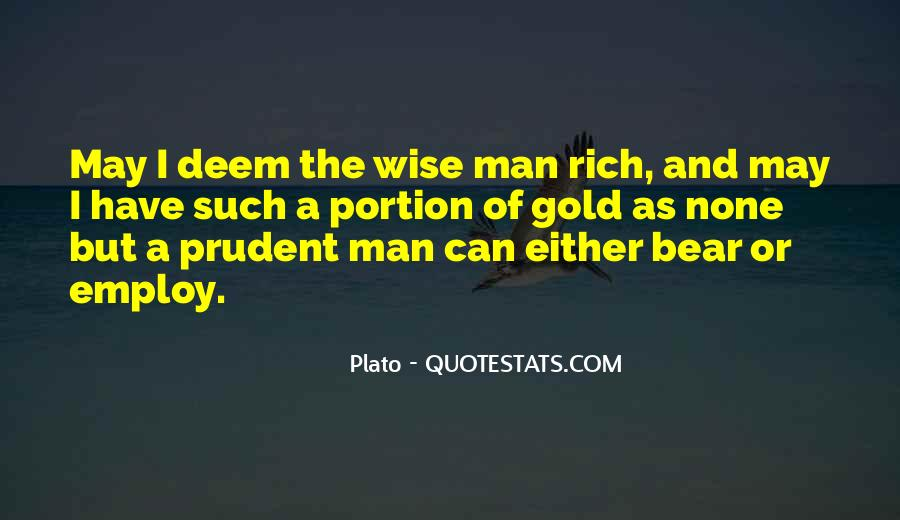 Quotes About Rich Man #166996