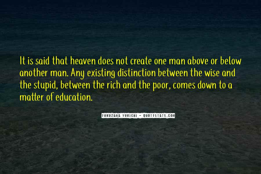 Quotes About Rich Man #191172
