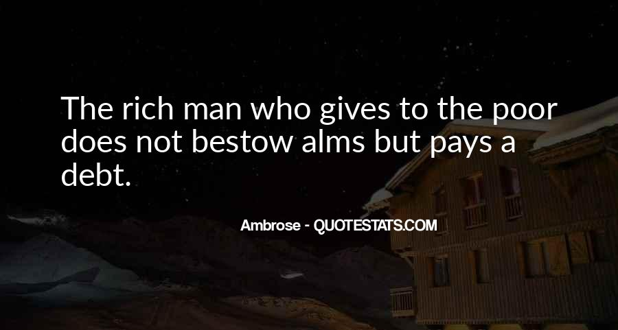 Quotes About Rich Man #202325