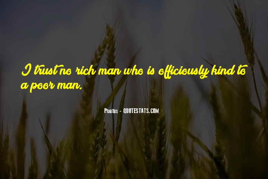 Quotes About Rich Man #206334