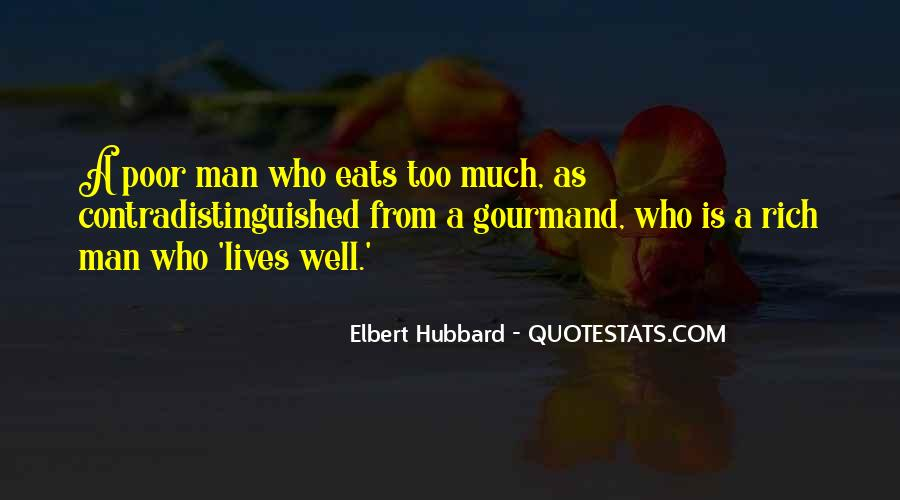 Quotes About Rich Man #215334