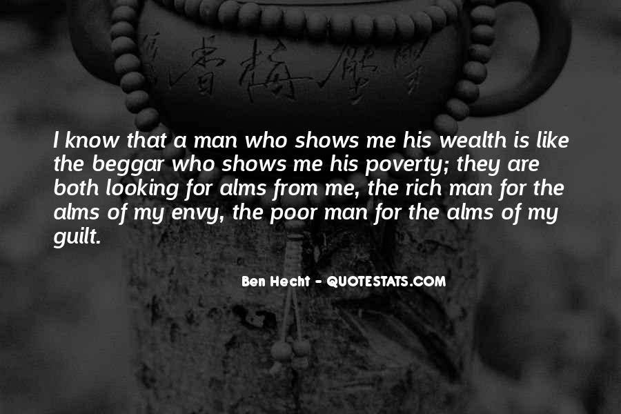 Quotes About Rich Man #245451