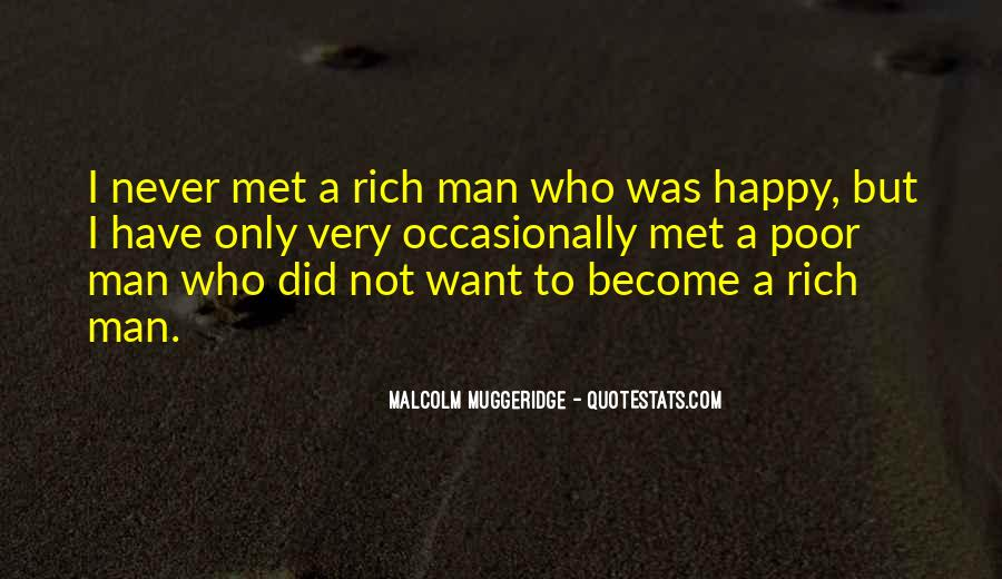 Quotes About Rich Man #31580