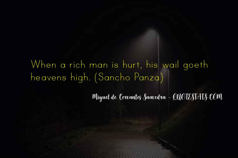 Quotes About Rich Man #7078