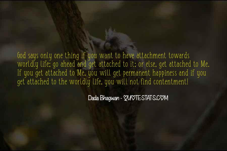 Quotes About Worldly Life #63419