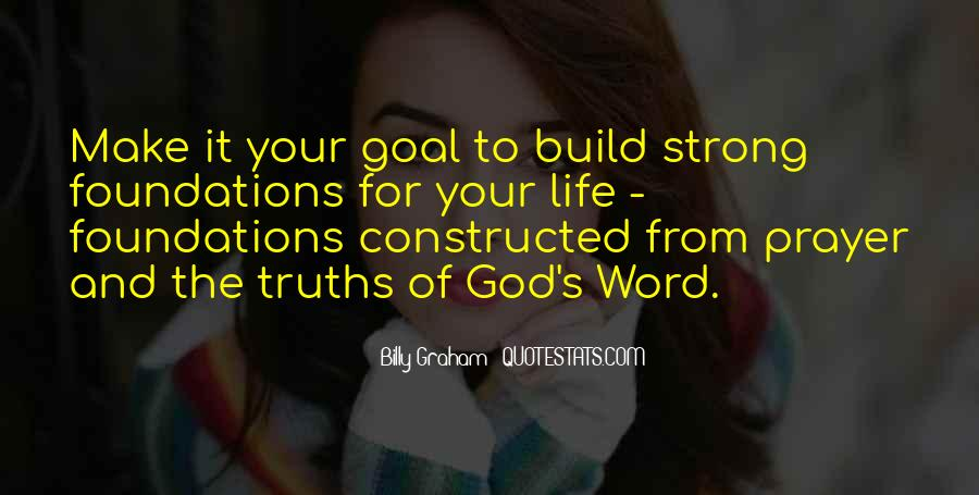 Quotes About Foundations #284425