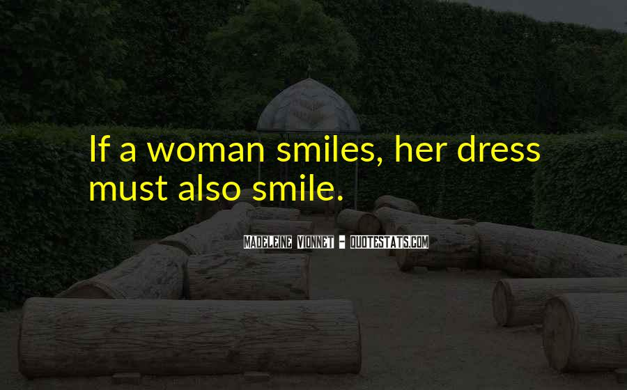 Quotes About A Woman's Smile #1347688