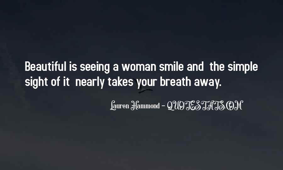 Quotes About A Woman's Smile #1370945
