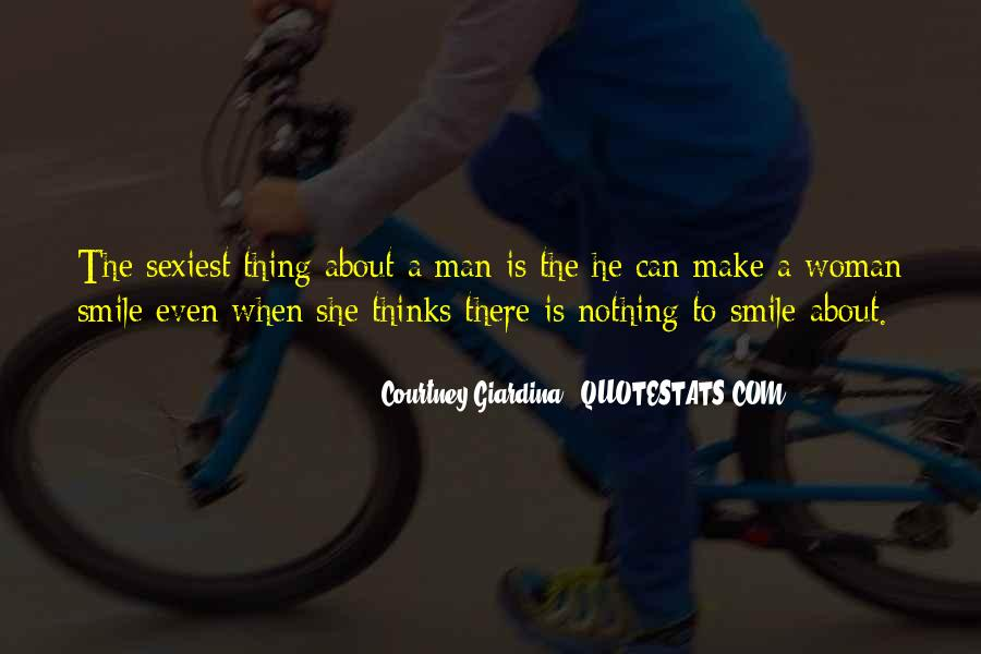 Quotes About A Woman's Smile #1548362