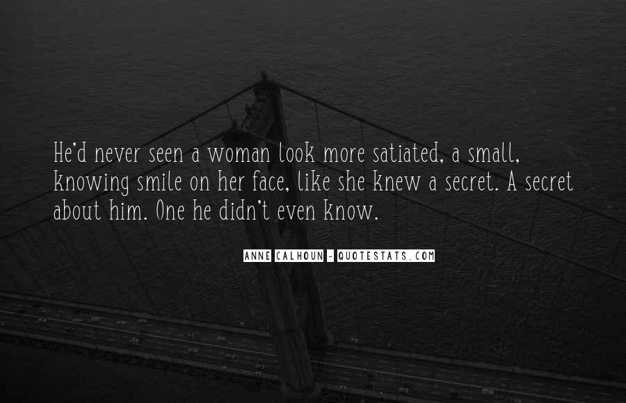 Quotes About A Woman's Smile #604207