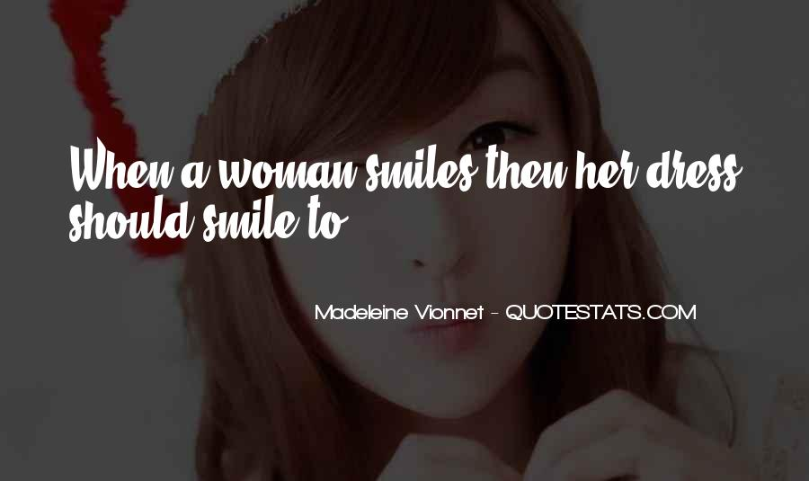 Quotes About A Woman's Smile #655729