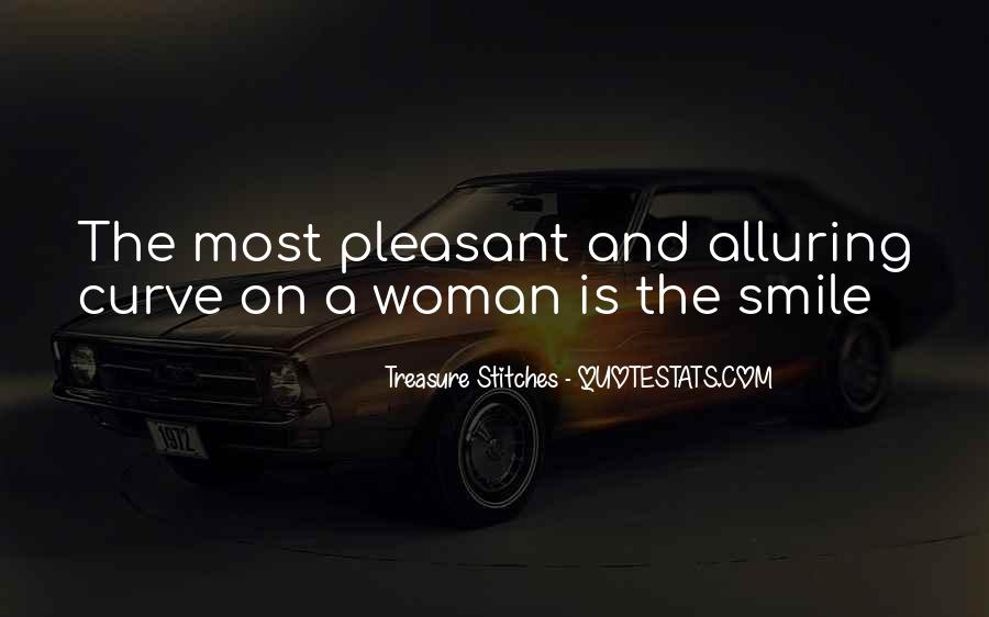 Quotes About A Woman's Smile #709919