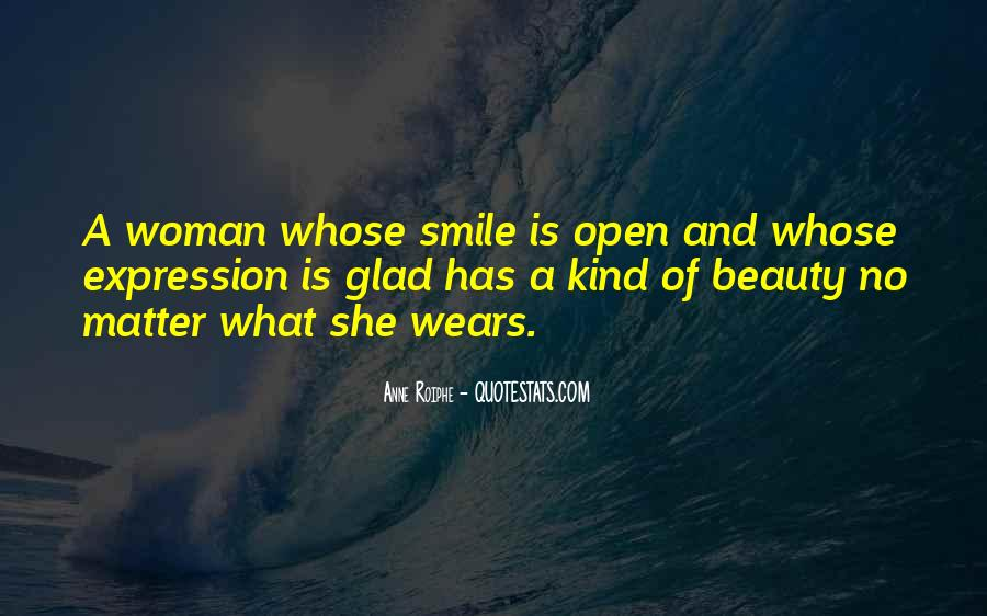 Quotes About A Woman's Smile #778972