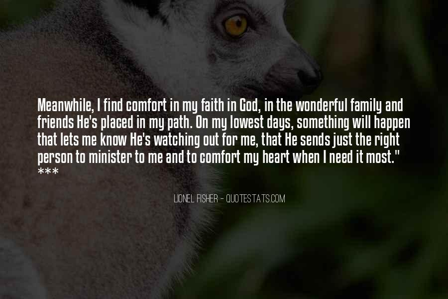 Quotes About Family Watching Over You #141456
