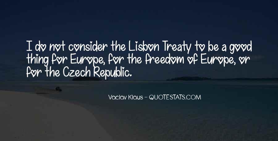 Quotes About Czech Republic #103353