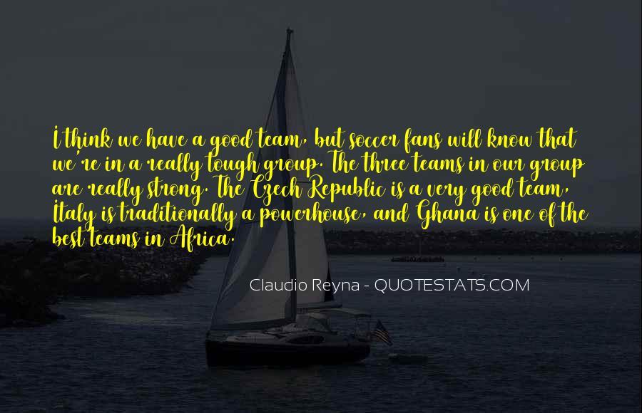 Quotes About Czech Republic #1307174