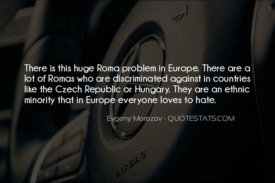 Quotes About Czech Republic #320571