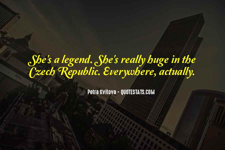 Quotes About Czech Republic #52404