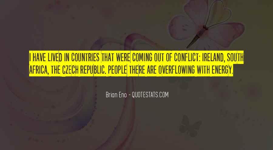 Quotes About Czech Republic #56262