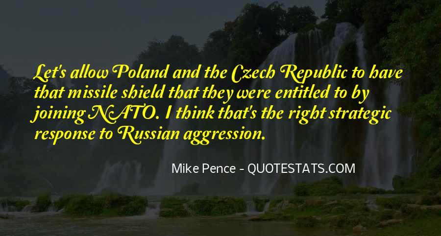 Quotes About Czech Republic #642656