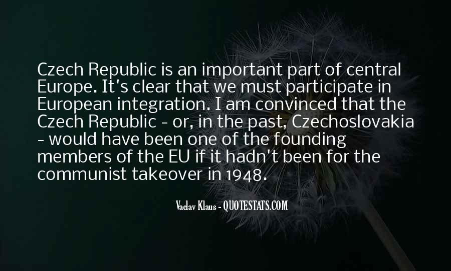 Quotes About Czech Republic #769491