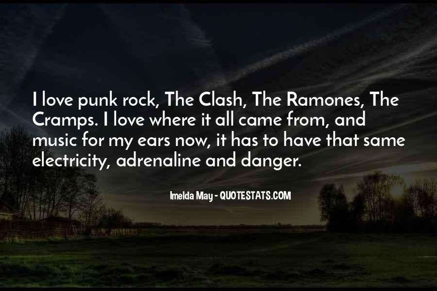 Quotes About Punk Rock Music #1021319