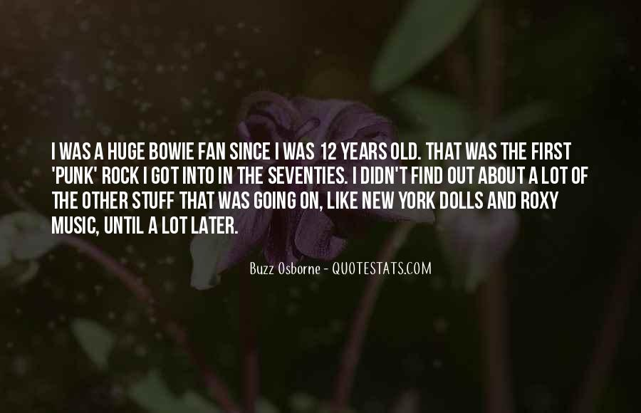 Quotes About Punk Rock Music #1230591