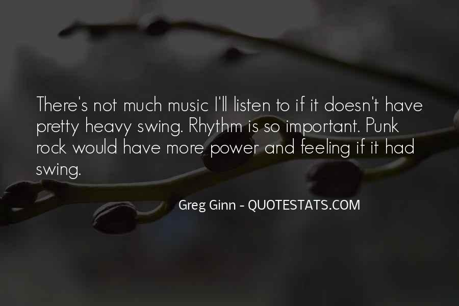 Quotes About Punk Rock Music #1300981