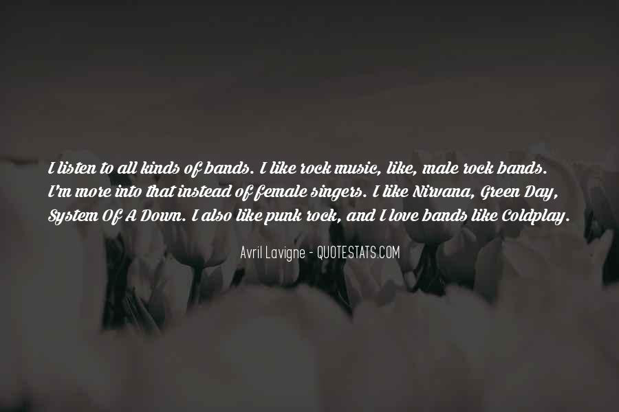 Quotes About Punk Rock Music #1314749