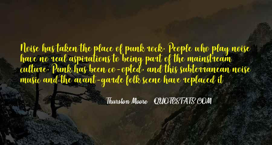 Quotes About Punk Rock Music #1316656