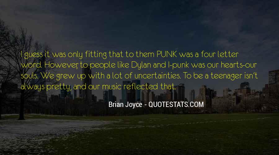 Quotes About Punk Rock Music #148528