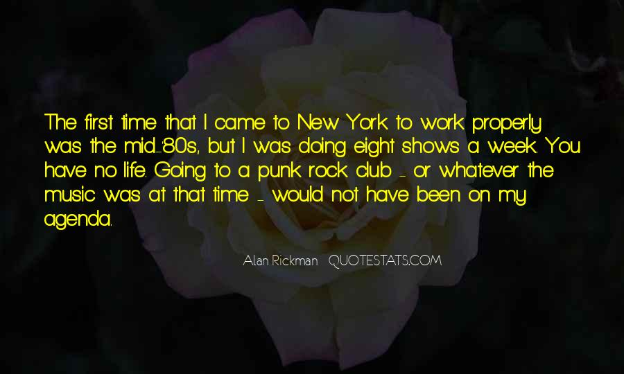 Quotes About Punk Rock Music #1641014