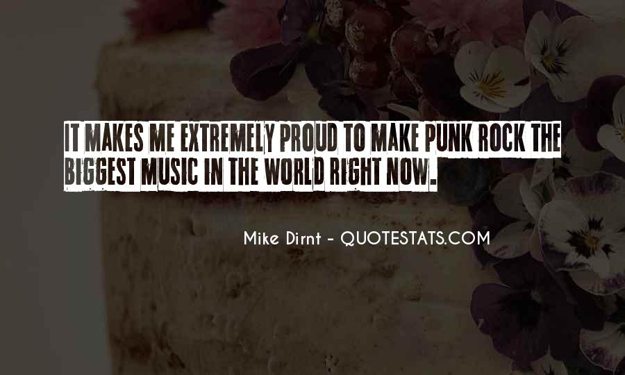 Quotes About Punk Rock Music #1709019