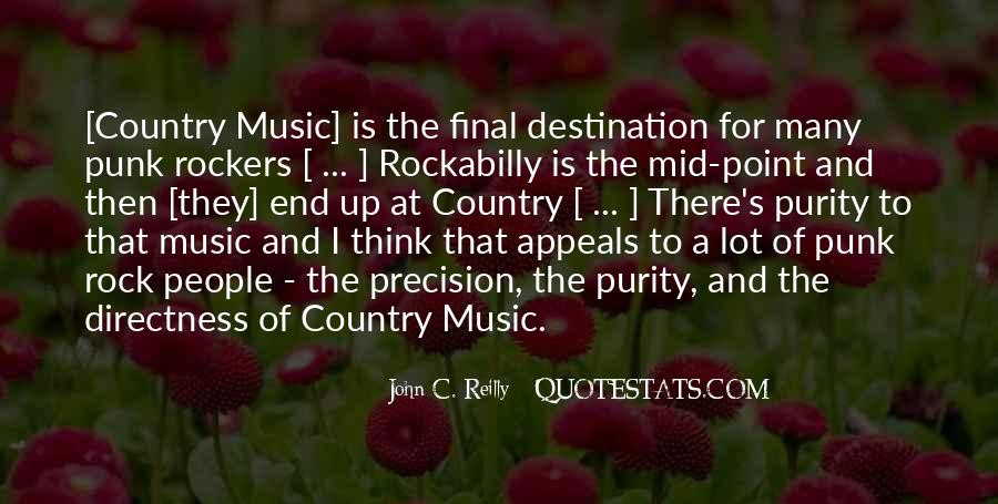 Quotes About Punk Rock Music #1741513